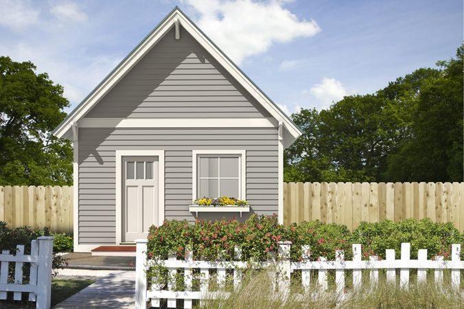Проект небольшого дома с мансардой 50 кв м