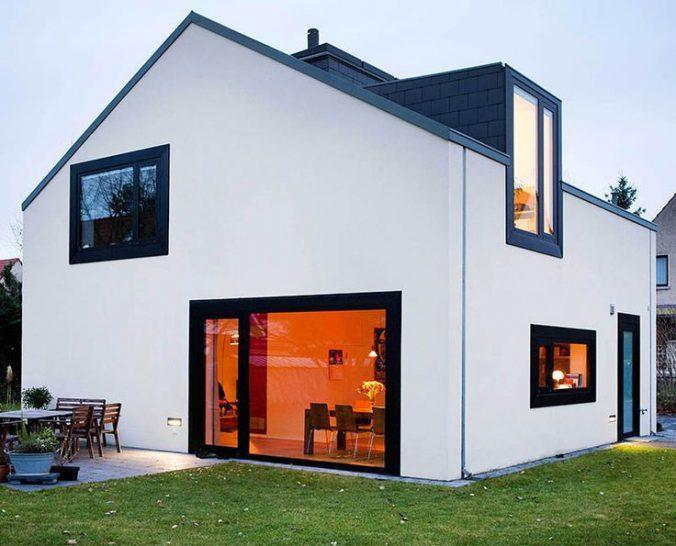 Белый вариант фасада