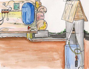 Колодец для водоснабжения частного дома