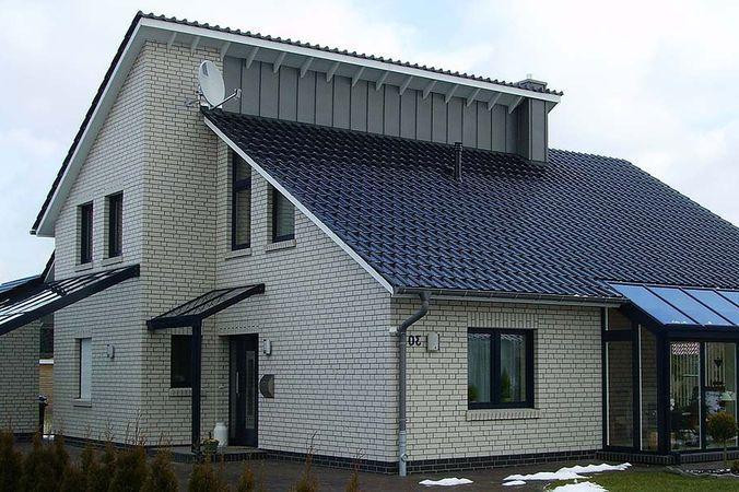 Отделка фасадов силикатным кирпичом