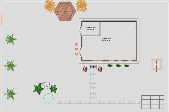 Вид плана в 2D FloorPlan 3D