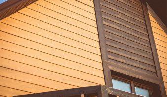 Отделка домов сайдингом: фото вариантов