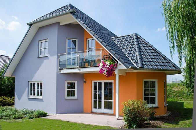 Цветочный фасад