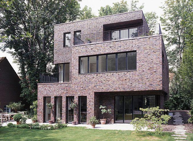 Современный дом с клинкерным фасадом