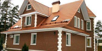Дом с термопанелями для фасада Termosit