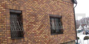 Фасад с клинкерными панелями Фрайд
