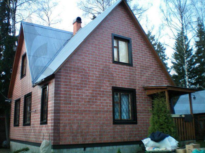 Дом после отделки фасадными термопанелями