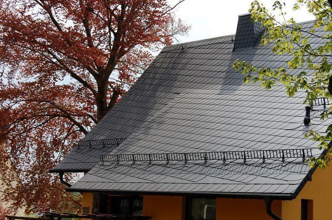 Не забывайте делать ограждения для удобного доступа к крыше