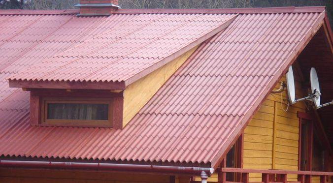 Ондулин для деревянного дома