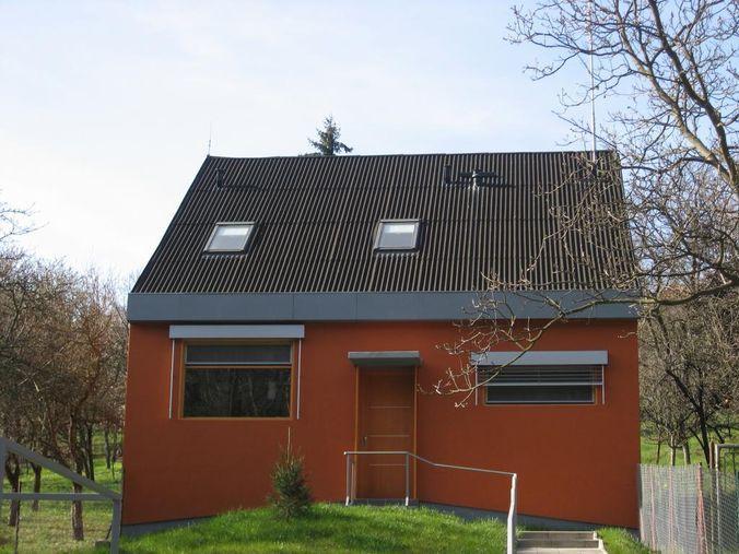 Тёмно-зелёная крыши из ондудина