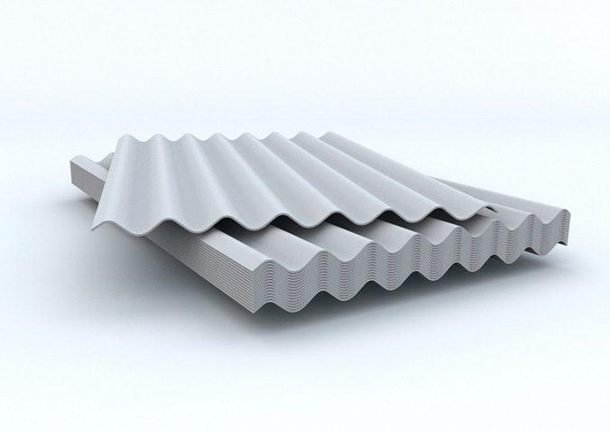 Шифер - асбестоцементные листы для крыши