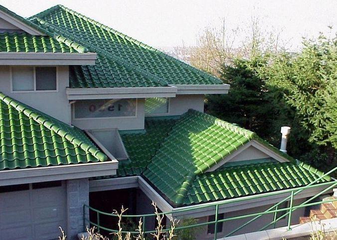 Необычный зеленый вариант