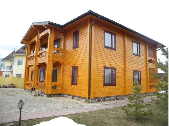 Просторный двухэтажный дом
