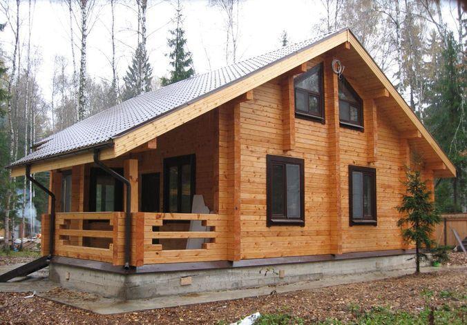 Лесной домик из профилированного бруса
