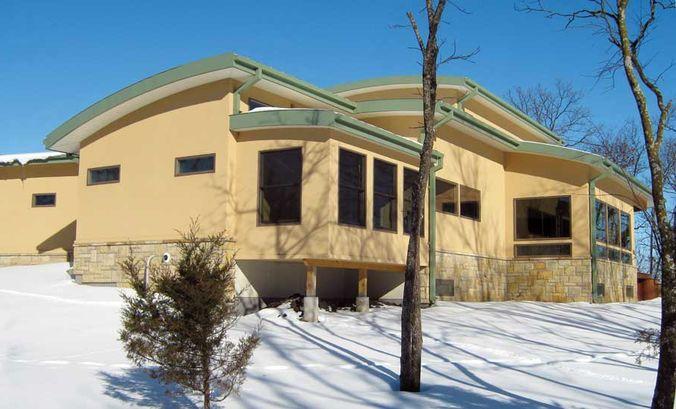 Дом из СИП-панелей в США