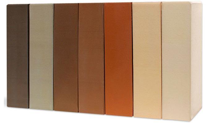 Ещё один важный плюс - это разнообразная цветовая палитра кирпича