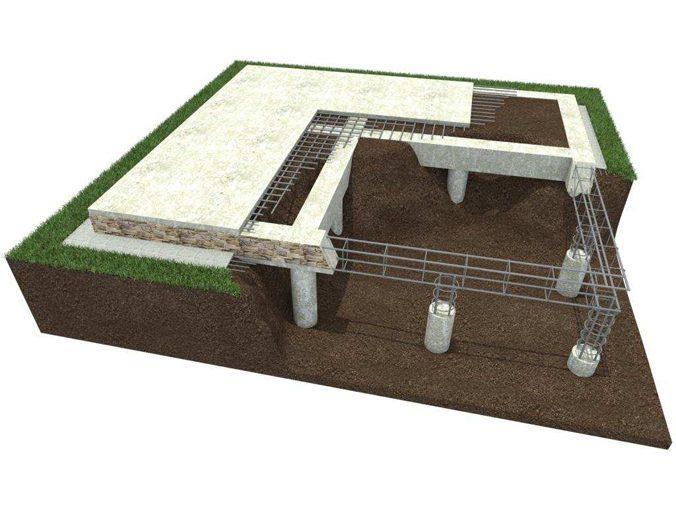 Свайно-ростверковый фундамент: устройство, плюсы и минусы