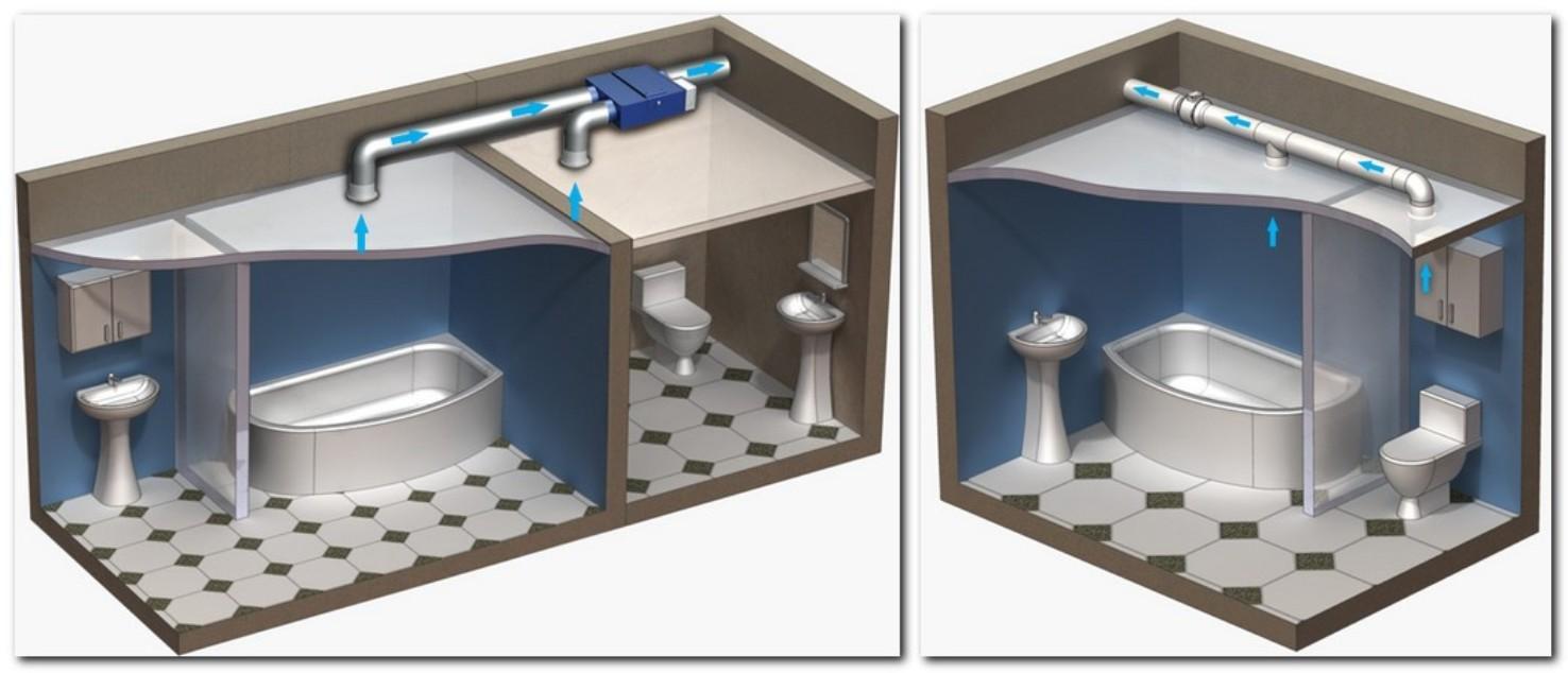 Ремонт вентиляции в ванной и туалете видео, отсосала за деньги русская телка