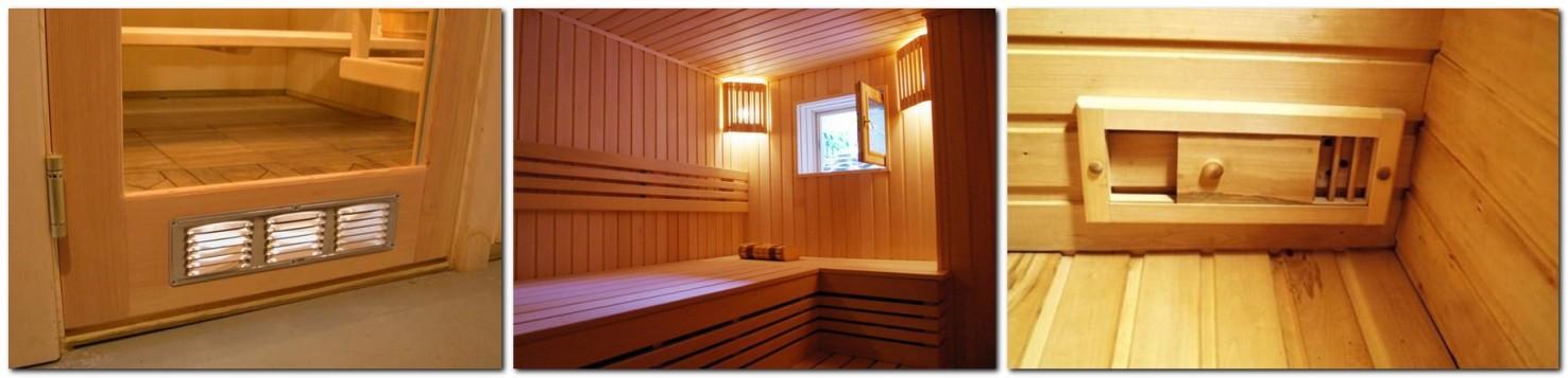 виды вытяжных систем в бане