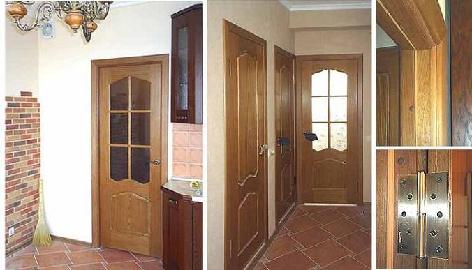 Установка межкомнатных дверей своими руками — как правильно рассчитать размеры и установить двери (95 фото)