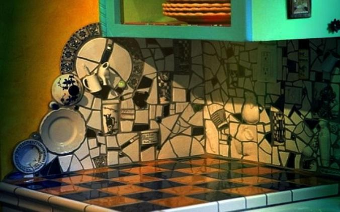 мозаика на фартуке