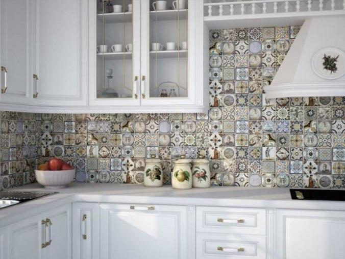 плитка на стену кухни