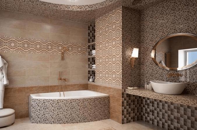 изысканная плитка в ванную