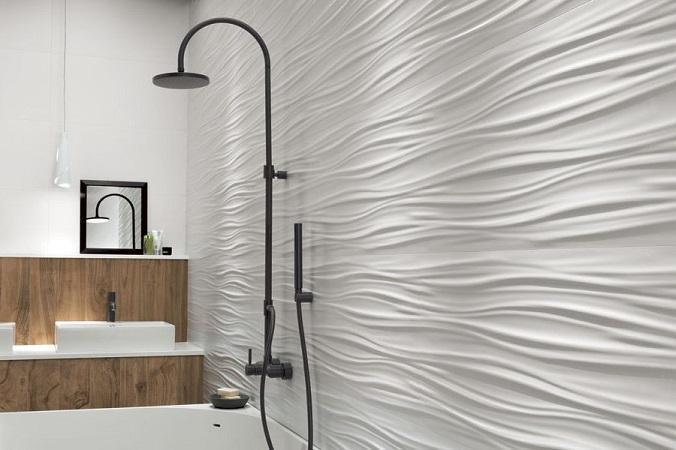 рельяфная плитка для ванной