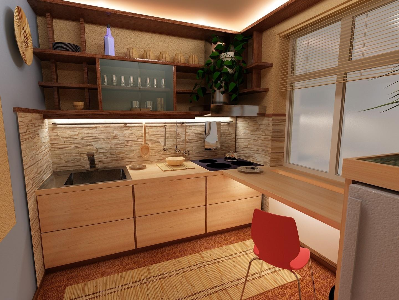 картинки кухни в пятиэтажках европейских