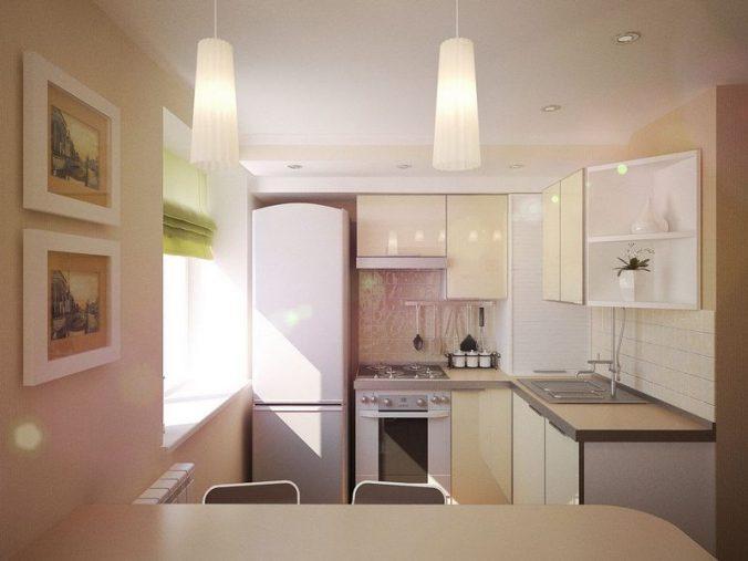 мягкий свет на кухне