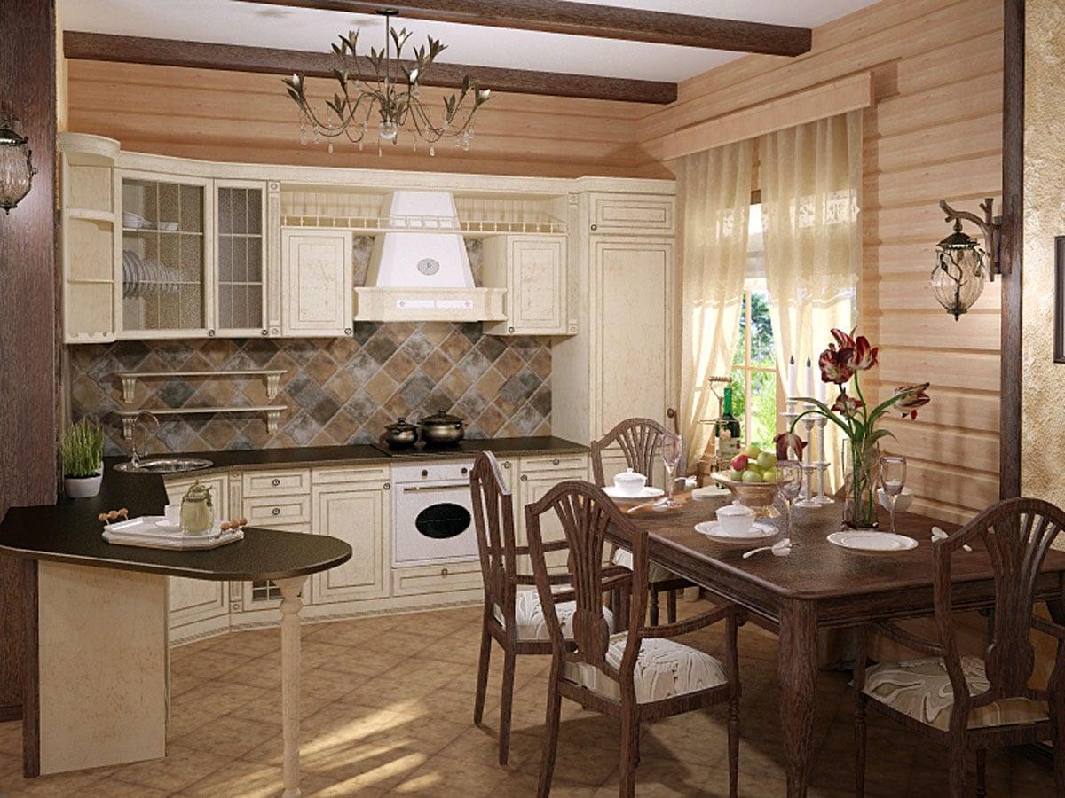 возможная кухни в загородном доме варианты фото смотреть водой одежде при