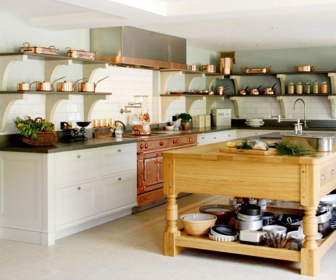 кухонная утварь на кухне