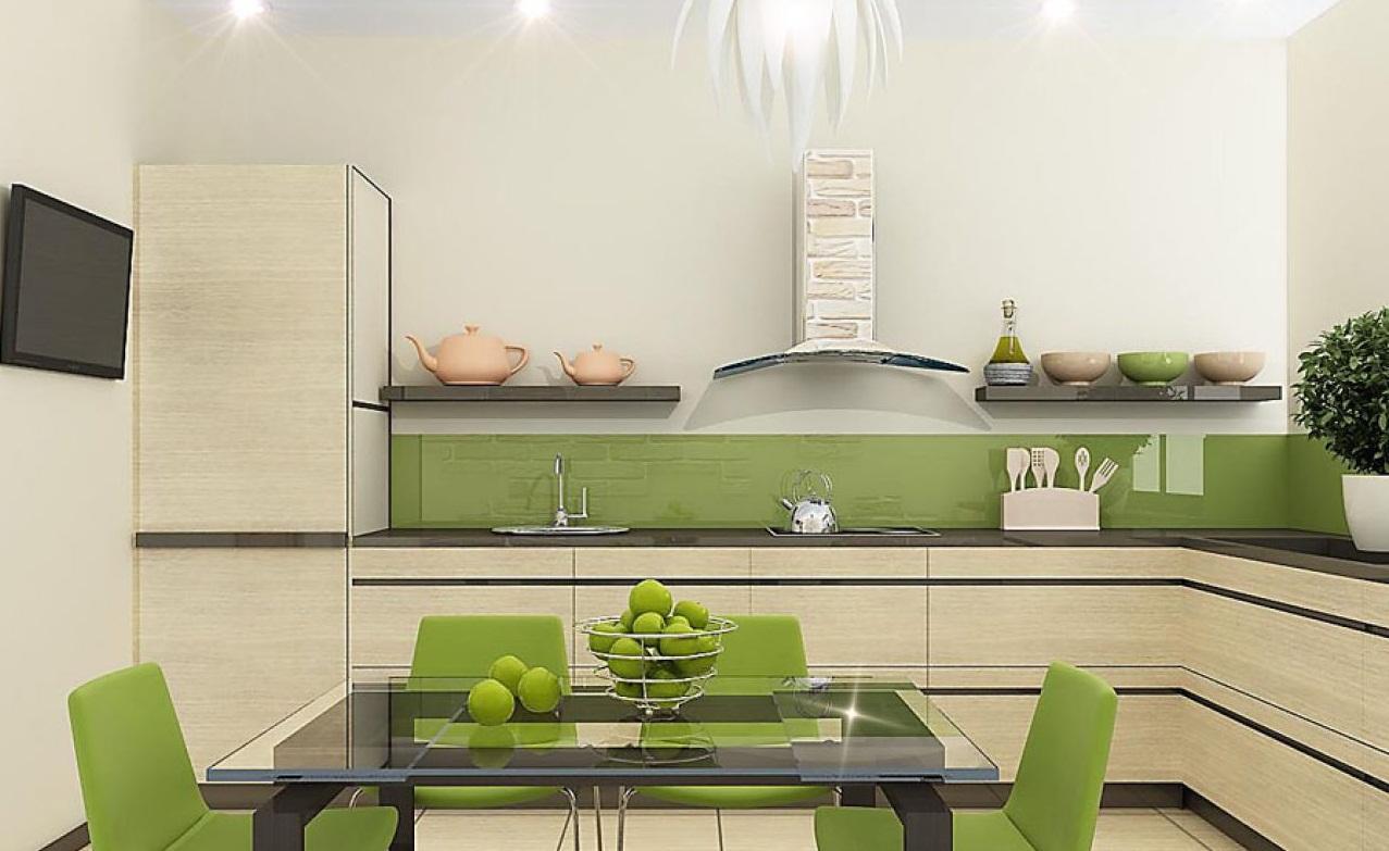 кухонные гарнитуры без навесных шкафов фотографии очень
