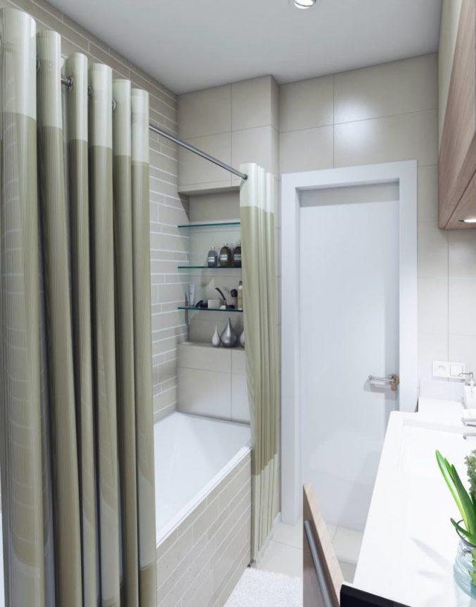 пастельная ванная
