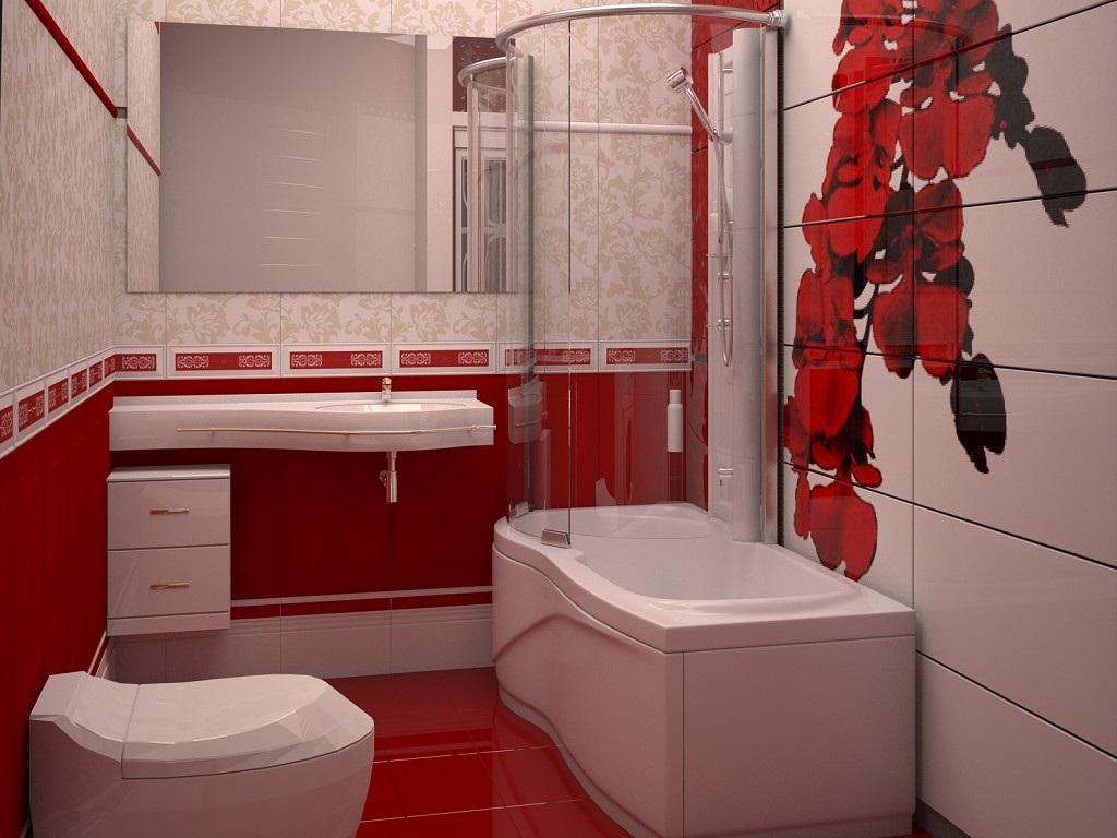 Ремонт в ванной маленькой картинки