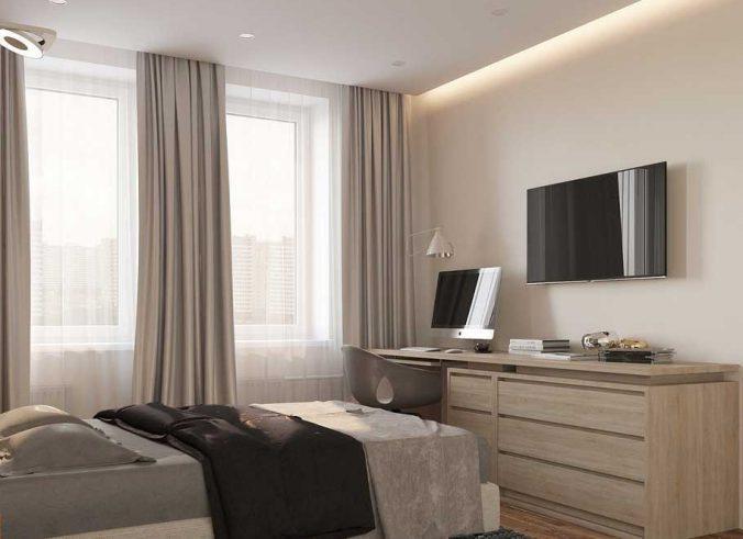 спальня 10 кв. метров