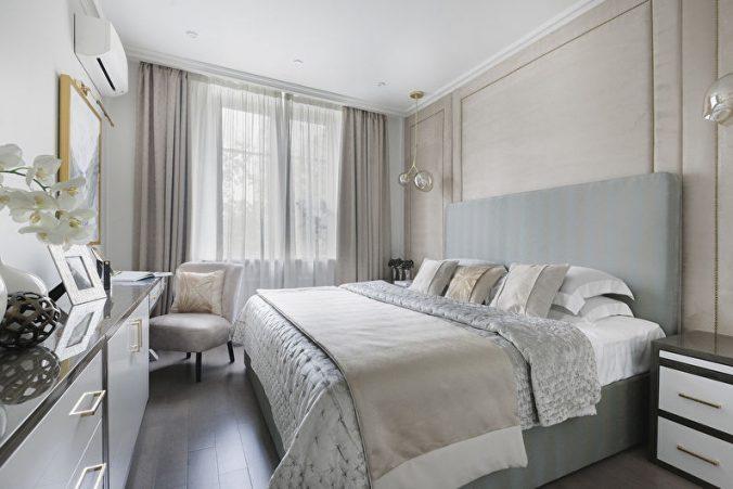 Ламинат спальни