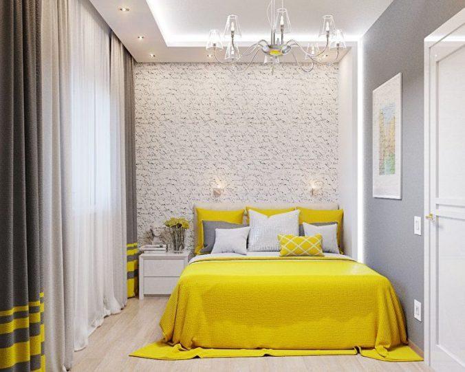 желта спальня